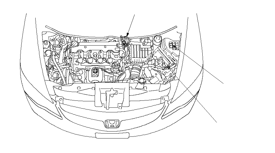 electronic throttle control system component location